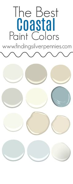 I get so many questions about paint. Today I'm sharing the colors of our home and the best coastal paint colors. I'm also sharing a few tips for painting.