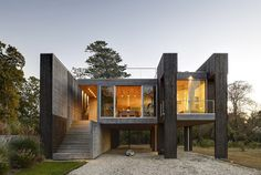 Дом на сваях Архитектурный Дизайн, Жилая Архитектура, Зеленая Архитектура,  Современный Дизайн, Дизайн 03db7a7da27
