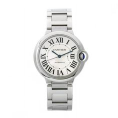 Cartier Women's W6920046 Ballon Bleu Stainless steel watch. Lovely elegant timepiece click to buy best watches for her