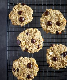 Cookies Banane, Sweet Cooking, Cookies Et Biscuits, Kids Meals, Food And Drink, Healthy Recipes, Healthy Food, Yummy Food, Sugar