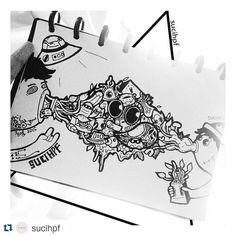 #Repost artwork karya @sucihpf  Follow tag dan mention hasil gambarmu pada kami dan dapatkan kesempatan tutor dengan artist-artist gambar Indonesia. Juga kesempatan menjadi salah satu artist di @sneakypieceproject  A Happiness Project by @sneakypiece  #draw #doodleart #doodleindonesia #doodleadict #doodle #drawing #drawingoftheday #instaartoftheday #instadraw #instaartist #instaartsy #instaarts #instaarthub #instaartistic #instaartwork #fullofdoodleart #art #artgallery #artnews #alterbook…