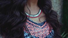 Necklace goals <3 #ootd How To Feel Beautiful, Women Empowerment, Turquoise Necklace, Beauty Hacks, Hair Beauty, Ootd, Goals, Fashion Trends, Jewelry
