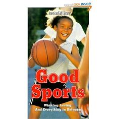 Good Sports:  Winning, Losing, and Everything in Between.  I've used the good sport and bad sport questionnaires in this book for small group and classroom lessons on sportsmanship.