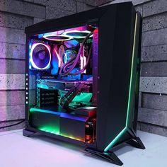 Gaming Desk Setup, Gamer Setup, Pc Setup, Tour Pc, Configuration Pc, Gaming Pcs, Asus Rog, Kraken, Pc Gamer