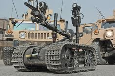"""itstactical: """" The Talon: Military service robot: """" The Talon is a powerful, lightweight, and versatile robot designed for a wide array of missions ranging from reconnaissance to bomb neutralization. Marine Engineering, Engineering Tools, Improvised Explosive Device, Military Robot, Mechanical Arm, Baghdad Iraq, Robot Arm, Thing 1, Robot Design"""