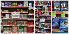 Walgreens 70 off clearance Cartoon Network Tv, Christmas Clearance, Oreo, Candy, Coffee, Holiday Decor, Food, Kaffee, Essen