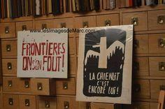 """Affiches - Mai 1968, """"Atelier Populaire, ex-Ecole des Beaux-Arts"""". Original document. www.lesimagesdemarc.com"""