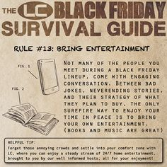2014 Black Friday Survival Guide | LCstyle