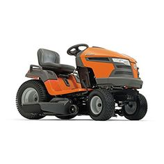 Husqvarna 960430211 YTA18542 18.5 hp Fast Continuously Varilable Transmission Pedal Tractor Mower, 42""