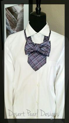 Plaid ladies bow tie women's bow tie necklace necktie