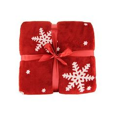 Ideal Textiles, Luxury Christmas Nordic Throw, Snowflake Fleece... ($16) ❤ liked on Polyvore featuring home, bed & bath, bedding, blankets, fleece blankets, ivory throw, red fleece blanket, cream throw and red blanket