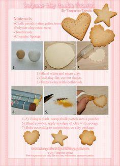 Polymer Clay Sugar Cookie Tutorial