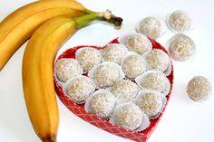 Bananen-Pralinen  ein besonderes Rezept. Die Pralinen sind leicht zuzubereiten und schmecken super lecker.