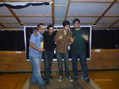 The amazing comedians - Praveen Kumar, Ahmed Shariff, Kanan Gill and Siddharth Banerjee