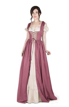 THE IRISH FULL COSTUME  Fitted sleeveless bodice ~ may be worn with any style…