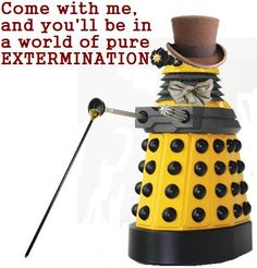 Bahahahaha this is the best Dalek-something else mash-up :)