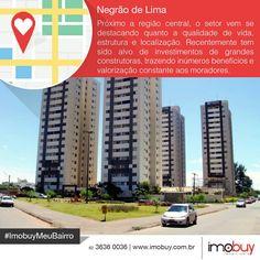 Boa tarde! Conheçam um pouco mais sobre a história do Setor Negrão de Lima e o mercado imobiliário. #ImobuyMeuBairro