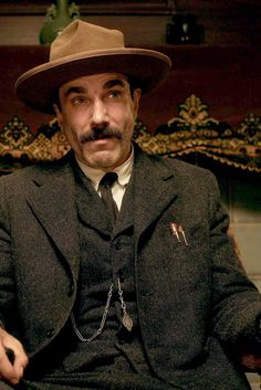 THERE WILL BE BLOOD - Daniel Day-Lewis as a ruthless oil baron.