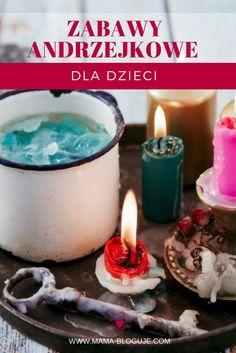 Zabawy Andrzejkowe, Wróżby Andrzejkowe, Andrzejki, dla dzieci Crafts For Teens, Diy For Kids, Kids And Parenting, Presents, Baby Shower, Education, Halloween, Beautiful Pictures, Teaching