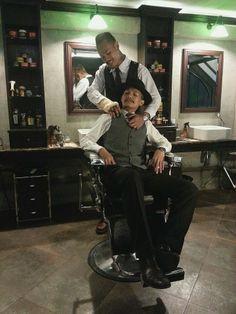 Black Amber Barbershop, Bangkok Thailand