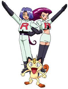 Team Rocket. I used to love them!