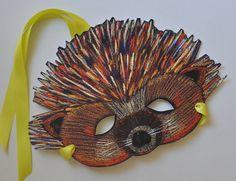 Porcupine Paper Halloween Dress-Up Mask $10