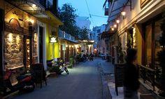Athens, Greece - Psiri