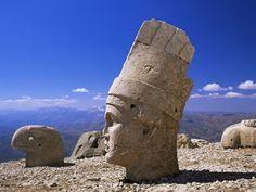Head of Antiochos I Kommagenes, Anatolia, Turkey