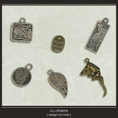 CU Charms :: COMMERCIAL USE :: Memory Scraps