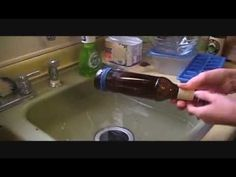 how to cut wine bottle to get perfect edge, crafts, repurposing upcycling, How to cut a bottle using household items