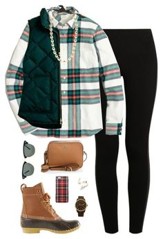 """~Infinite Cities~"" by thepinkandgreenprep1 ❤ liked on Polyvore featuring NIKE, L.L.Bean, J.Crew, Tory Burch, Ray-Ban, MICHAEL Michael Kors and Kate Spade"