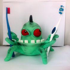 Monstro Guardião das escovas de dentes