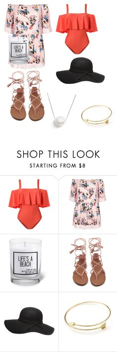 """""""Summer Fun!"""" by laurelkat ❤ liked on Polyvore featuring ADRIANA DEGREAS, River Island, JS Candle Studio and Chan Luu"""