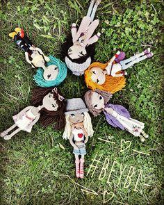 70 отметок «Нравится», 1 комментариев — @yasominik в Instagram: «Hoşçakalın ben güzeller güzeli bi kız çocuğunun oyun dünyasına gidiyorum #beybi #amigurumi…»