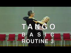 How to Dance Tango - Basic Routine 1 - YouTube