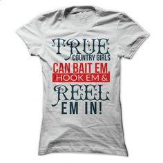 TRUE COUNTRY GIRLS #Tshirt #T-Shirts. BUY NOW => https://www.sunfrog.com/Funny/TRUE-COUNTRY-GIRLS-White-Ladies.html?60505
