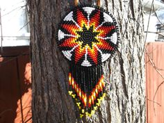 morning star necklace native american by deancouchie on Etsy, $98.00