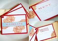 3-in-1: place card, menu, trivia card all in one - Celebrations At Home blog