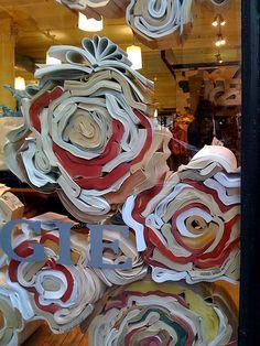 Paperback book designs-the displays or soooo creative!