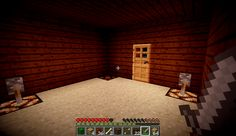 When you start out with that derpy 1st night survival hut in minecraft XD