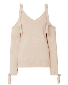 Exclusive for Intermix Sia Cold Shoulder Sweater