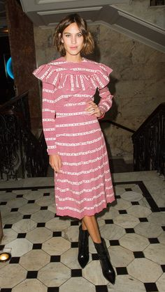 How to wear vintage grandma dress