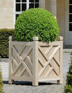 wooden planters - Google Search
