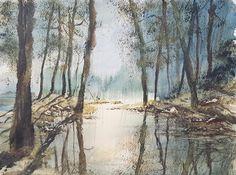 Sutton Park Original Watercolour Painting by Steven Cronin