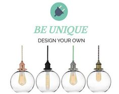 """Plug in 8"""" Glass Globe Shade Hanging Pendant Light - Antique Edison or LED - Custom Colors - Any Cord Length - Copper, Antique Brass, Nickle"""
