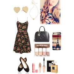 A fashion look from February 2015 featuring GUESS handbags, Kate Spade necklaces and Kate Spade earrings. Browse and shop related looks.