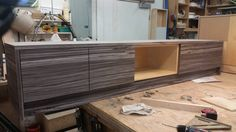 """Inside Squad (@InsideSquadNYC)   Twitter. The, Formica """"oiled olive wood"""", laminated, custom cabinetry project is making progress! #oiledolivewood #laminate #customcabinetry #millwork #residential #ourworkshop"""