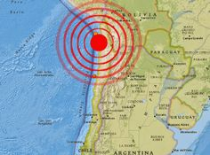 Strong 6.0 Magnitude Earthquake Strikes Southwest Of Iquique, Chile  4/10/14