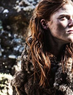 Rose Leslie as Ygritte in Game of Thrones