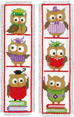 Bookmarks - Cross Stitch Patterns & Kits - 123Stitch.com